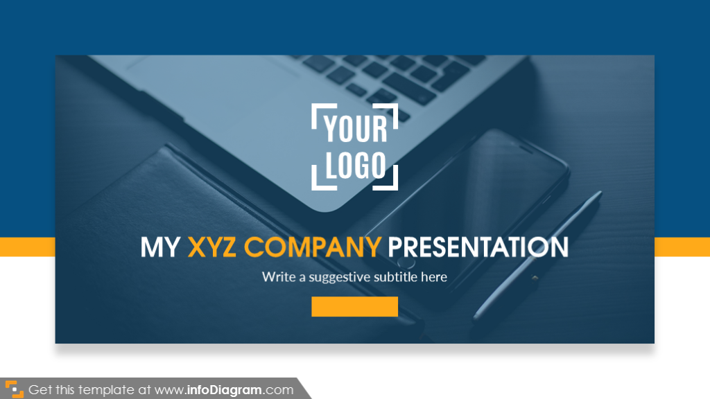 My company presentation title slide