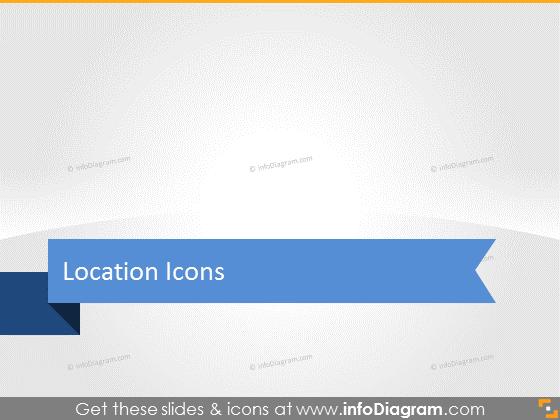 Transportation Logistics icons bundle clipart pptx