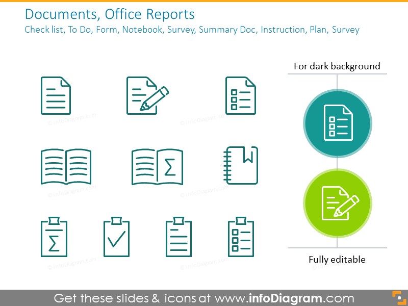 Documents, Office Reports