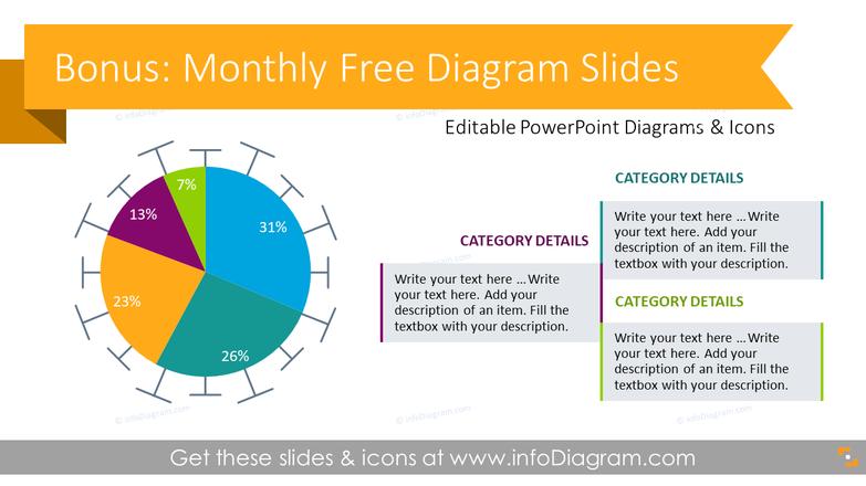 Bonus infoDiagram slides of the month