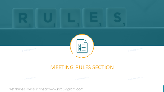 Meeting Rules Section Template
