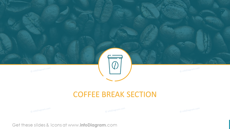 Coffee Break Section Template