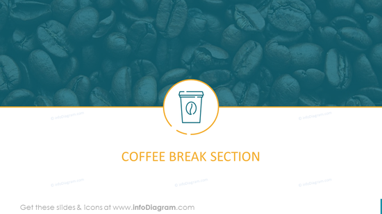 Coffee Break Section Template