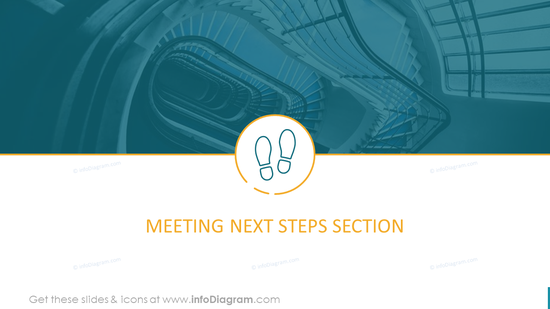 Meeting Next Steps Section Template