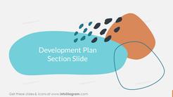 Development PlanSection Slide