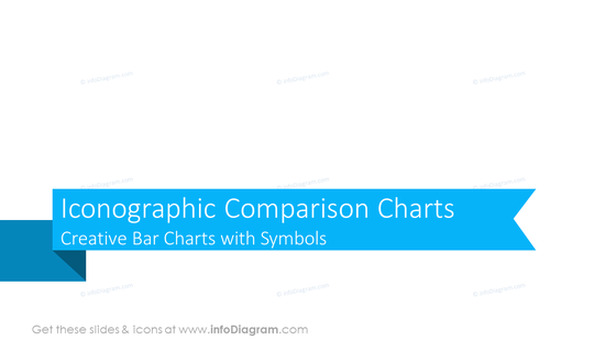 Iconographic Comparison ChartsCreative Bar Charts with Symbols